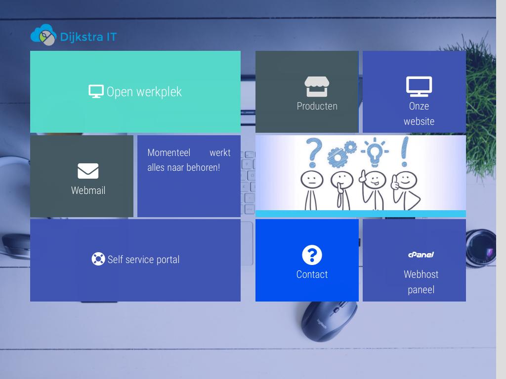 Dijkstra-IT intranet